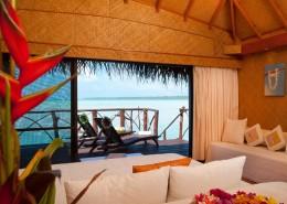 Aitutaki Lagoon Resort & Spa, Cook Islands - Over water