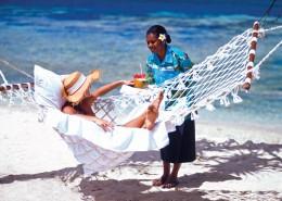 Breakas Beach Resort, Vanuatu - Beach Hammock