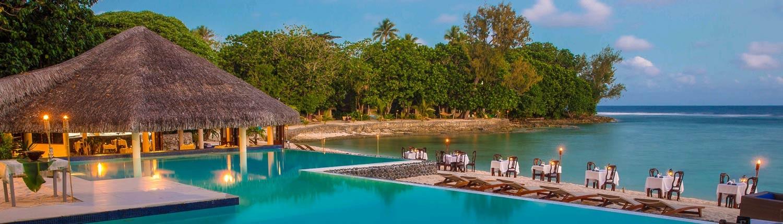 Breakas Beach Resort, Vanuatu - Pool View