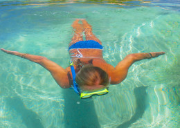 Castaway Island Fiji - Swimmer