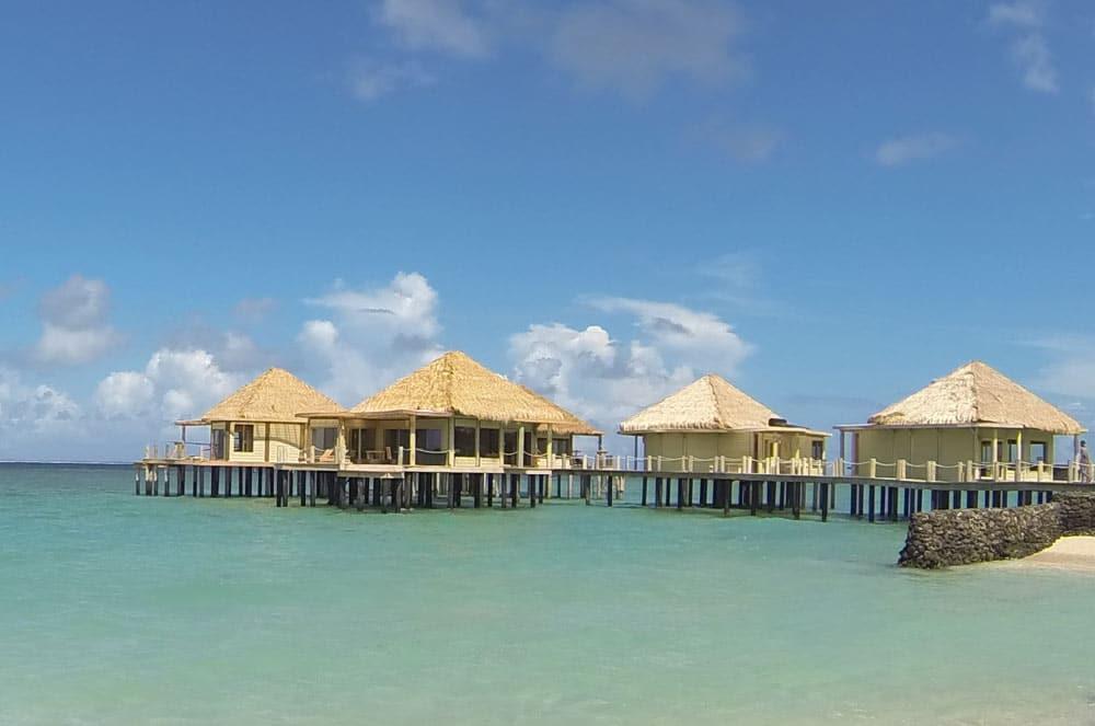Coconuts Beach Club Resort Spa Samoa Over Water Bures