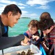 Jean-Michel Cousteau, Fiji - Marine Biologist with children