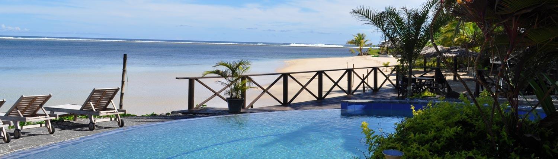 Le Lagoto Resort, Samoa - Beach view