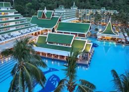 Le Meridien Phuket Beach Resort Thailand - Pools