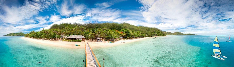 Malolo Island Resort, Fiji - View of Island
