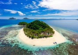 Matamanoa Island Resort - Aerial