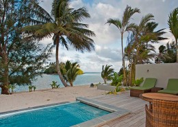 Nautilus Resort Luxury Villas Cook Islands - Looking To Sea