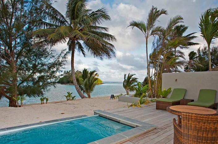 Nautilus Resort Luxury Villas Cook Islands - Looking To Sea