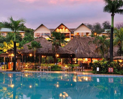 Outrigger Fiji Beach Resort - Pool & Rooms