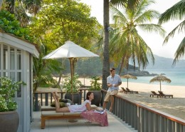 The Surin Phuket Thailand - Beach Studio Suite Patio