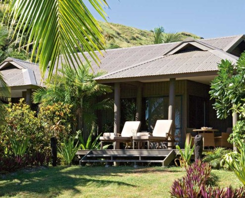 Vomo Island Resort Fiji - Bure exterior