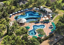 Warwick Le Lagon Resort & Spa, Vanuatu - Aerial view