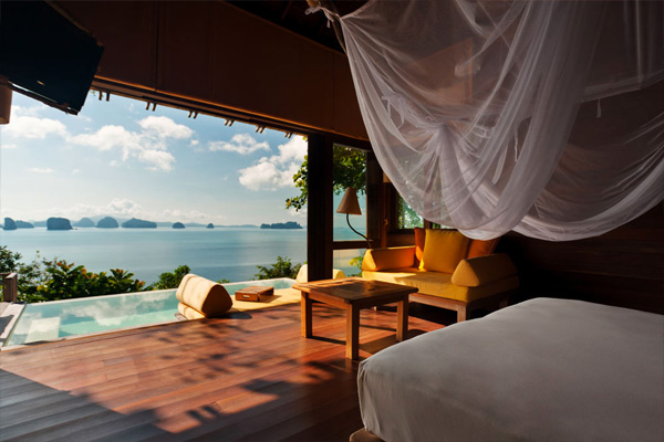 six senses yao noi luxury holiday package island escapes holidays. Black Bedroom Furniture Sets. Home Design Ideas