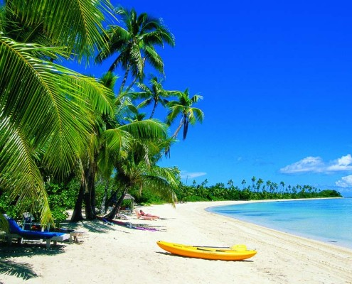 Plantation Island Resort Fiji - Beach