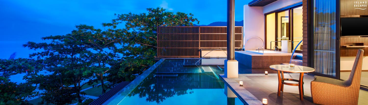 Vana Belle Koh Samui Thailand - Ocean View Pool Suite Terrace