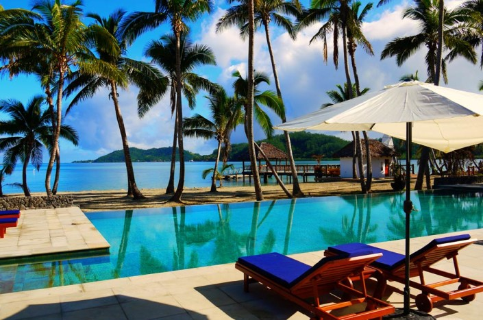 Tropica Island Resort, Fiji - Pool