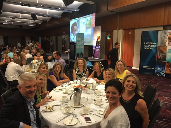 "Breakfast with some of our VIP Sydney Travel Agents for the Fiji ""Stronger Than Winston"" Charity Breakfast"