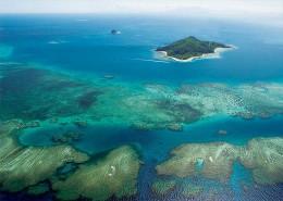 Castaway Island Fiji - Aerial Views