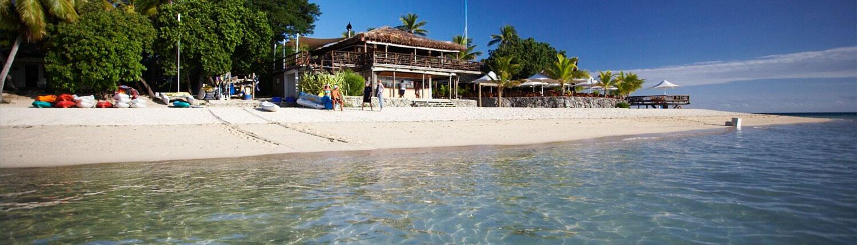 Castaway Island Fiji - Looking Onto Shore