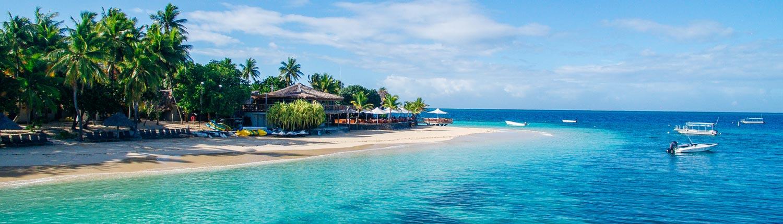 Castaway Island Fiji - Waterfront