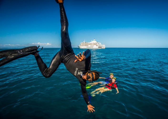 Captain Cook Cruises, Fiji - Diving Fun