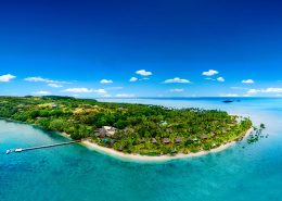 Jean-Michel Cousteau Resort Fiji - Aerial View