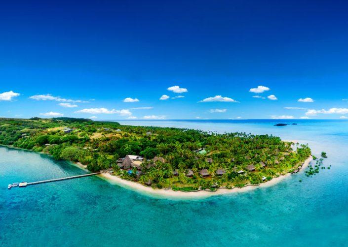 Jean-Michel Cousteau Resort Fiji - Aerial View