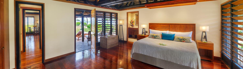 Jean-Michel Cousteau Resort Fiji - Deluxe Ocean Front 2 Bedroom Bure Interior