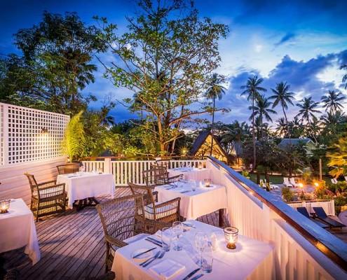 Malolo Island Resort Fiji - Treetops Outdoor Deck