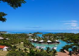 Musket Cove Island Resort & Marina Fiji - Aerial of Armstrong Villas