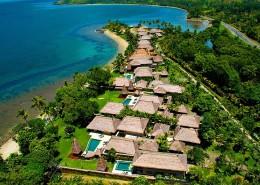 Nanuku Auberge Resort Fiji - Aerial View
