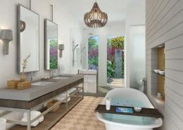 Nanuku Auberge Resort Fiji - Auberge Villa Bathroom