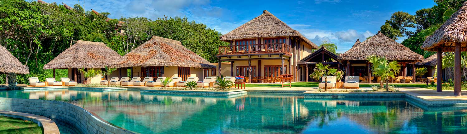 Nanuku Auberge Resort Fiji - Main Pool & Accommodation