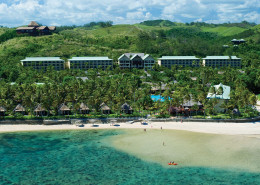 Outrigger Fiji Beach Resort - Aerial