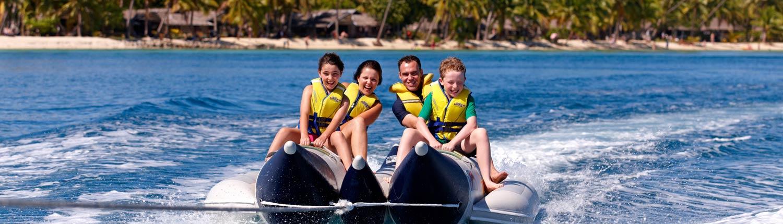 Plantation Island Resort Fiji - Water fun
