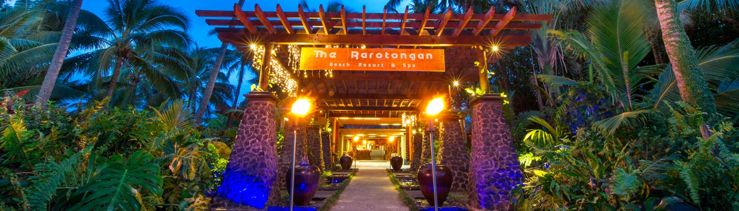The Rarotongan Beach Resort & Spa, Cook Islands - Welcome