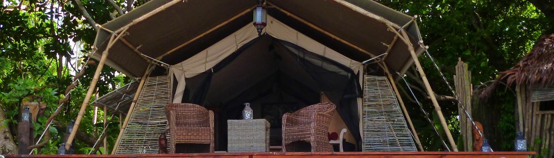 Ratua Island Resort & Spa, Vanuatu - Safari Tent Exterior