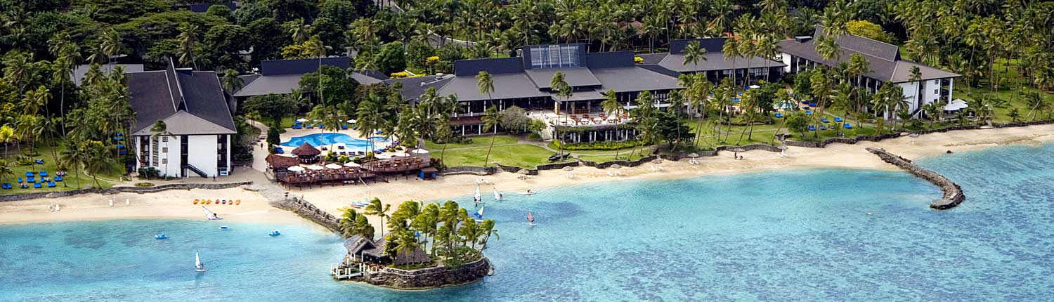 The Warwick Fiji - Aerial View