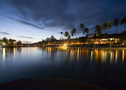 The Warwick Fiji - Resort Lights