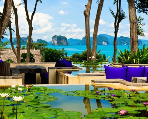 Six Senses Yao Noi Thailand - View From Den
