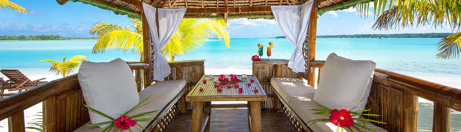 Aitutaki Lagoon Resort & Spa Cook Islands - Beach Gazebo