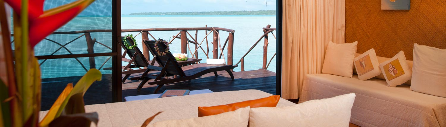 Aitutaki Lagoon Resort & Spa Cook Islands - Overwater Interior