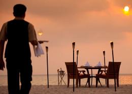 Angsana Laguna Phuket Thailand - Beach Dining