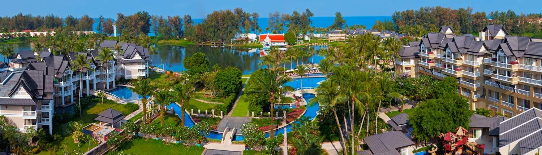 Angsana Laguna Phuket Thailand - Aerial View