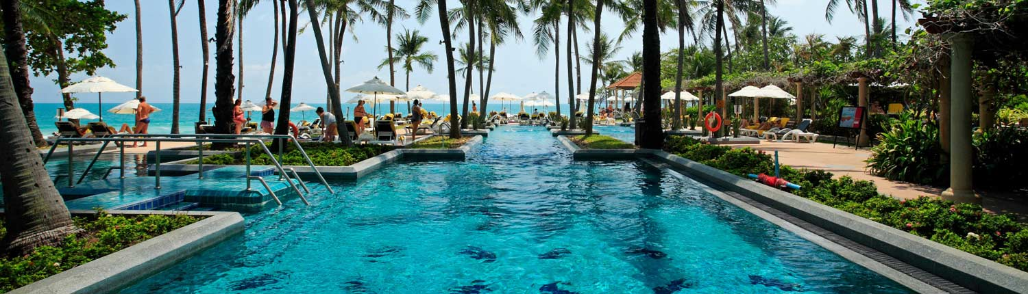Centara Grand Beach Resort Samui Thailand - Pool