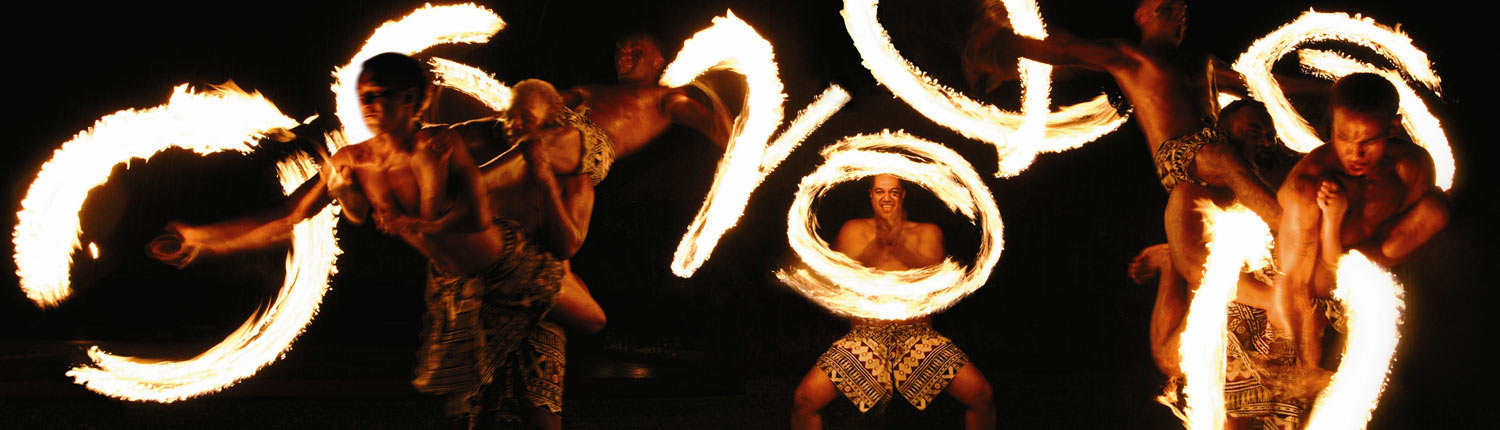Shangri-La's Fijian Resort - Fire Dancers