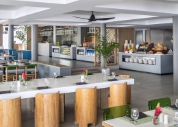 Shangri-La's Fijian Resort - Lagoon Terrace Restaurant