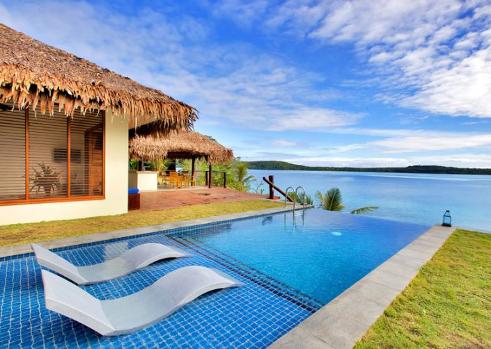 The Havannah, Vanuatu - Deluxe Waterfront Pool