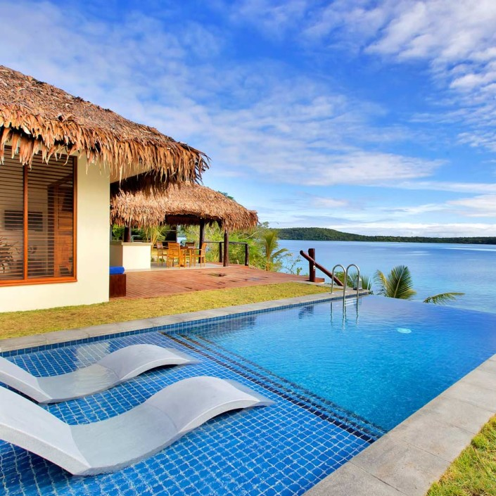 The Havannah, Vanuatu - Deluxe Waterfront Pool