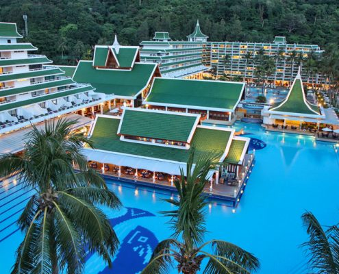Le Meridien Phuket Beach Resort, Thailand - Resort Pools